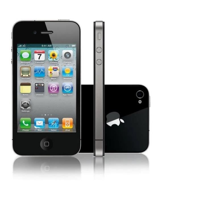 apple iphone 4s 16 go no achat smartphone pas cher. Black Bedroom Furniture Sets. Home Design Ideas