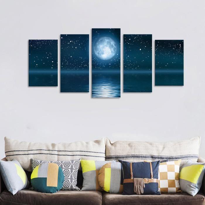Oeuvre D Art Moderne Toile Des Peintures Murales Décoratives Orchid Rock Imprimer 40 50 60cm Lux70505464 1000