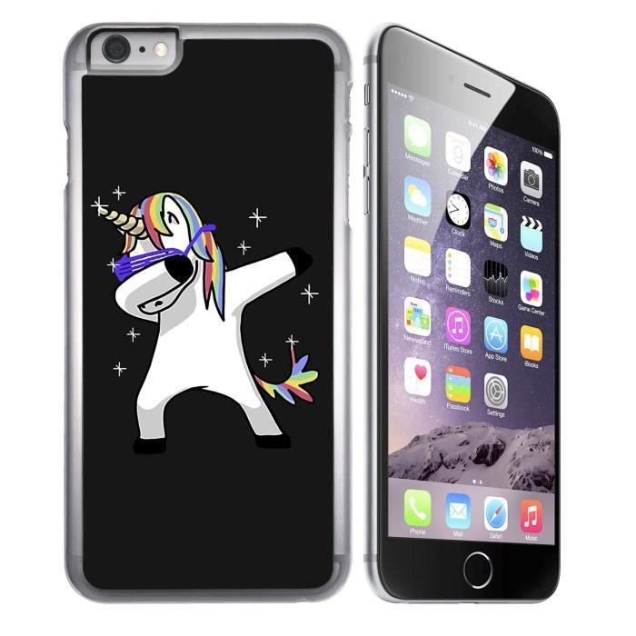 Coque iPhone 6 PLUS - 6S PLUS Licorne Dab