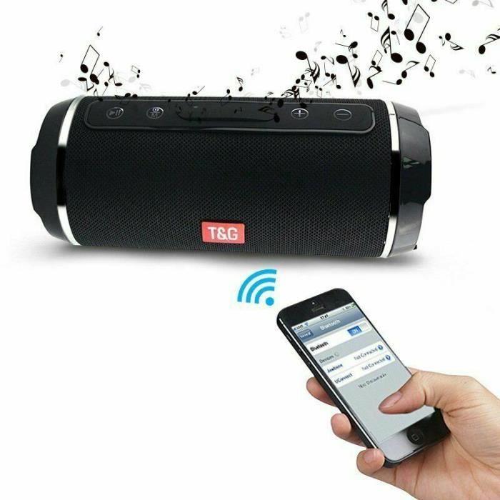 ENCEINTE NOMADE Enceinte Bluetooth Portable,Haut-parleur sans fil