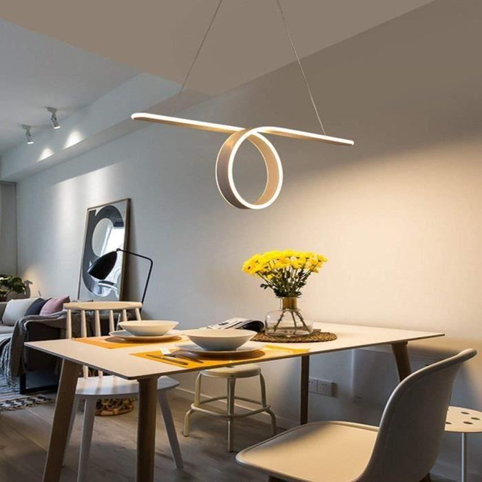 Modern Led Suspension Anneau Design Bureau Luster Decorative