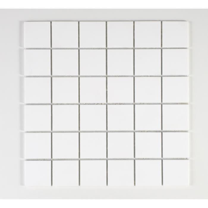 CARRELAGE - PAREMENT U-TILE  Mosaique en solid surface 30 x 30 xm - car