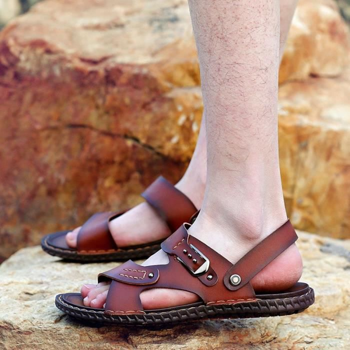 Men Tendance Fashion Slip-on Chaussures de plage