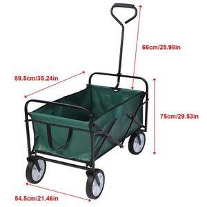 Neuf Pliable extérieur jardin chariot panier Festival Wagon Main Camion Brouette
