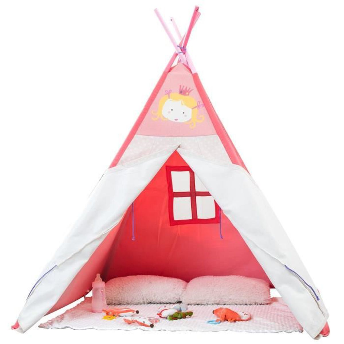 labebe tipi indien tente de jeux pour enfants gar on et. Black Bedroom Furniture Sets. Home Design Ideas