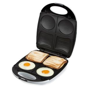 DOMO DO9069C Croque Madame + ?ufs au plat ? 1200W - Blanc