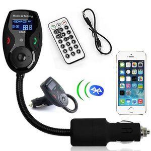 TRANSMETTEUR FM FM Modulator avec Bluetooth Car Kit mains libres T