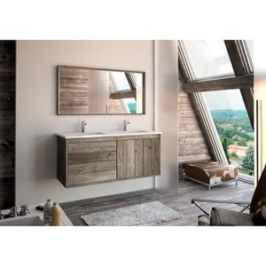 meubles salle de bain 2 vasques en 120 achat vente meubles salle de bain 2 vasques en 120. Black Bedroom Furniture Sets. Home Design Ideas