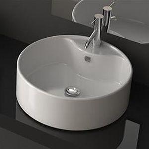 LAVABO - VASQUE Vasque blanche en céramique Vena
