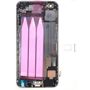 PIÈCE TÉLÉPHONE Coque arrière complète iPhone 6 Plus Noir