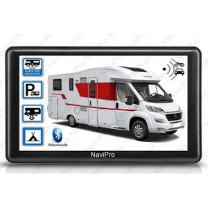 PACK GPS AUTO GPS CAMPING CAR 7 POUCES HD EUROPE - MAROC