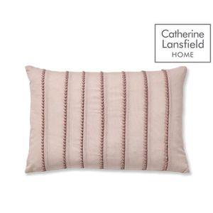 Fusion Balmoral Blush Pink Tartan 100/% coton rideaux et coussins
