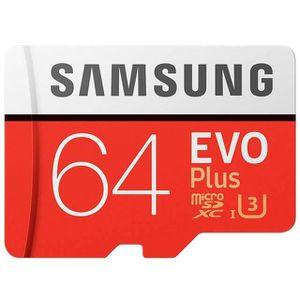 CARTE MÉMOIRE Carte Mémoire Micro SD 64 GB SAMSUNG - M1866
