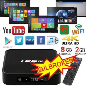 PACK ACCESSOIRES  T95M TV BOX Amlogic S905 2GB+8GB EMMC Android 5.1