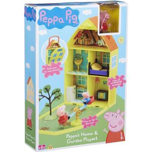 FIGURINE - PERSONNAGE Maison & Jardin Portique de Peppa Pig Peppa