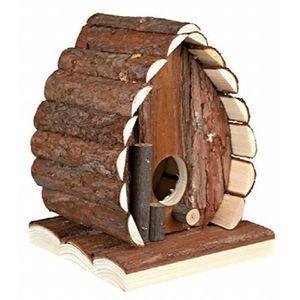 ACCESSOIRE ABRI ANIMAL Croci Maison Noix En Bois Pour Petits Animaux 13x1