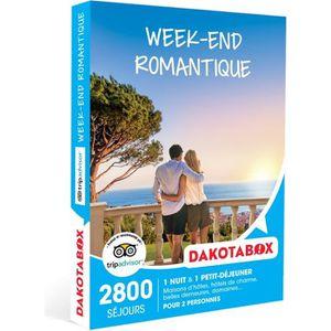 COFFRET SÉJOUR Coffret Cadeau - Week-end romantique - Dakotabox
