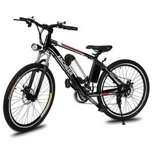 VTT ANCHEER Vélo VTT électrique 26 pouces roue 250W/21