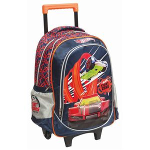 CARTABLE Cartable à roulettes Hot Wheels Zone 45 CM