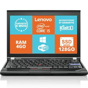 ORDINATEUR PORTABLE ordinateur portable lenovo thinkpad x220 ultrabook