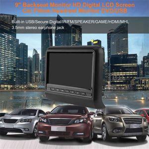 LECTEUR DVD PORTABLE Siège de voiture arrière 9 pouces voiture dvd appu