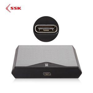 DISQUE DUR SSD EXTERNE SSK Boîtier Coque Adaptateur pour SSD Disque Dur E