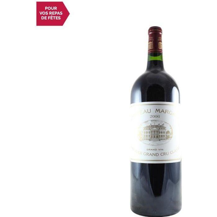 Château Margaux Premier Grand Cru Classé Rouge 2006 - 75cl - Vin Rouge de Bordeaux - Appellation AOC Bordeaux - Cépages Cabernet Fra