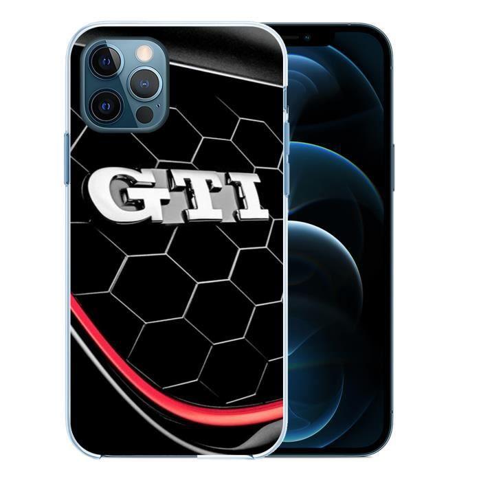 Coque pour iPhone 12 PRO - Vw Golf Gti Logo. Accessoire telephone
