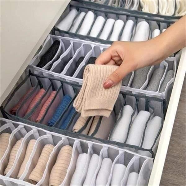 11 GRILLES-Boîte à chaussettes