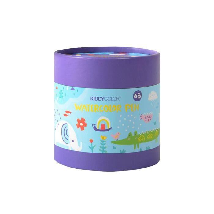 Children's Brush Safe Washable Set Water-soluble Watercolor Pen 10ml J5468