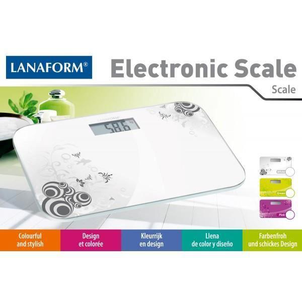 Pèse personne électronique design Couleur Blanc