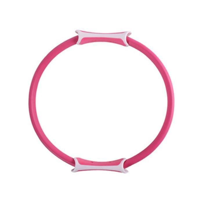 Massage musculaire réduit la perte de graisse abdominale Yoga anneau de Pilates multicolore rose
