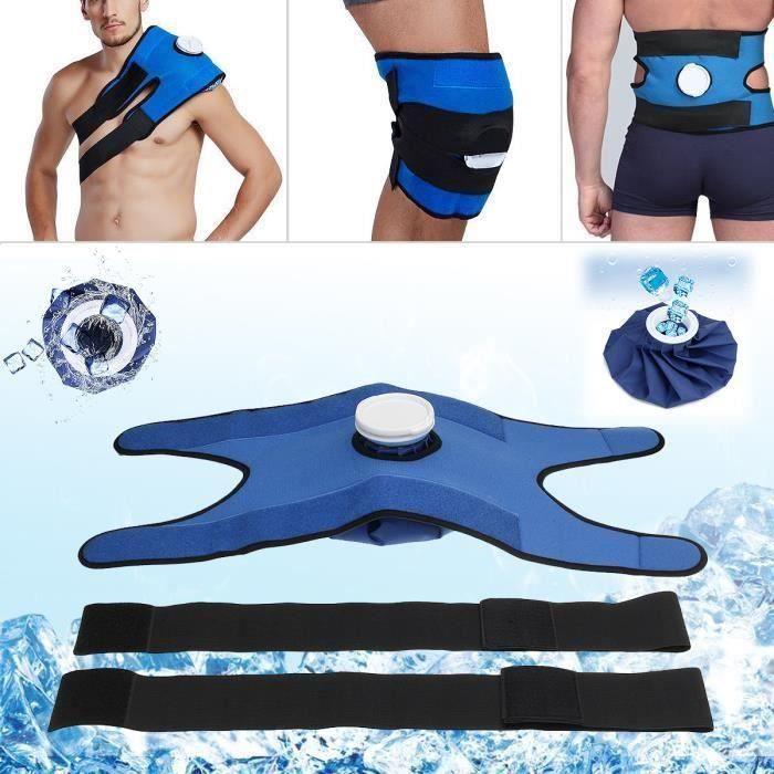 TEMPSA Sac De Glace Réutilisable Kit De Compresse Froide Chaude Multifonctionnel Pour Soulager Douleur Épaule Genou*SQ