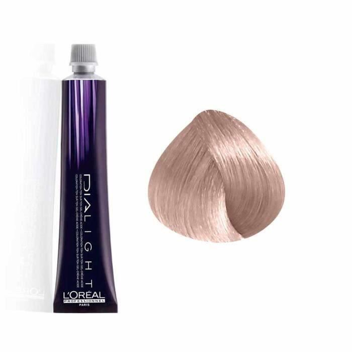 L'Oréal Professionnel Coloration gel crème Ton sur Ton 10.21 : Milkshake Sorbet Sans ammoniaque, 50ml
