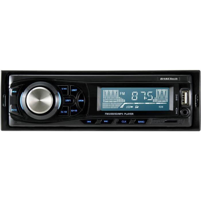Autoradio Basetech RF-4320668 1 pc(s)