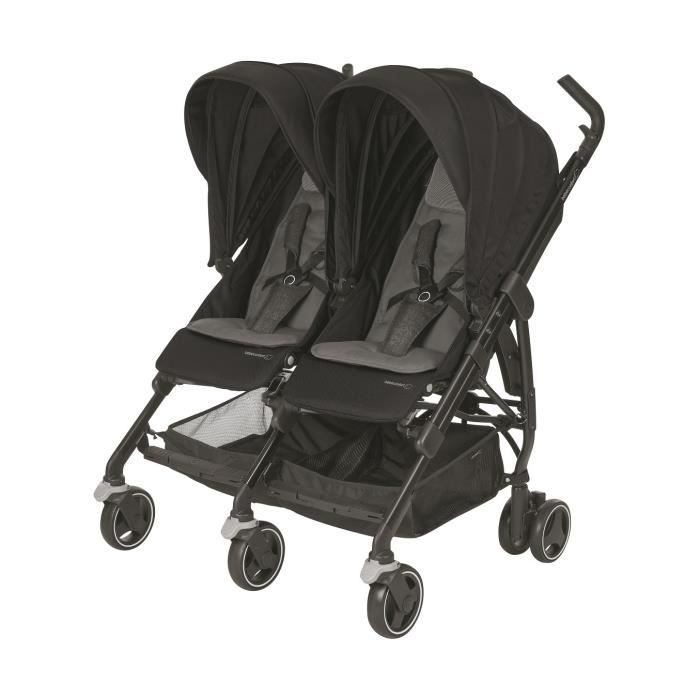 BEBE CONFORT Poussette double Dana For 2 - Nomad Black
