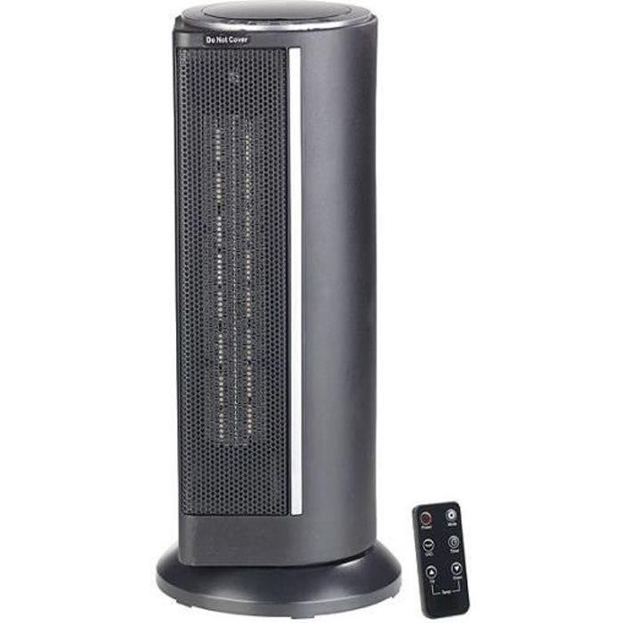 Radiateur soufflant céramique télécommandé 2000 W -LV-450-
