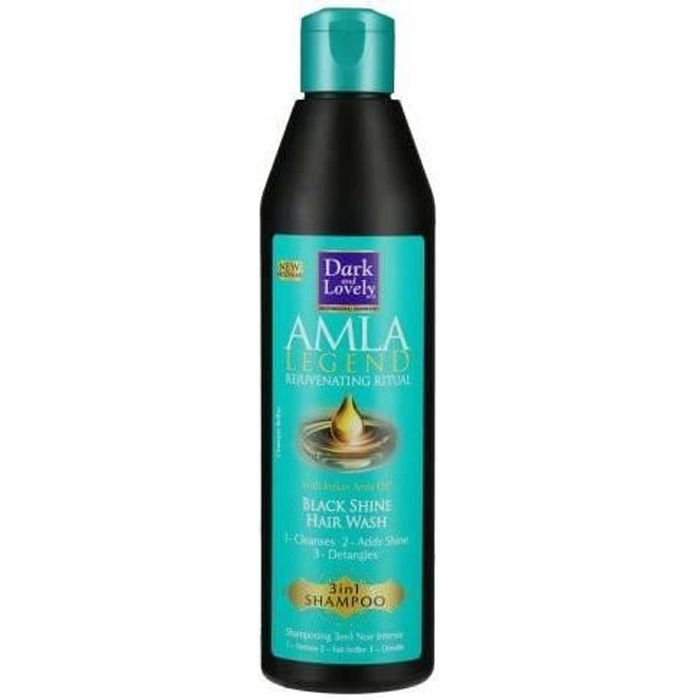 Dark & Lovely Shampooing Régénérant Amla Legend Black Shine 250ml