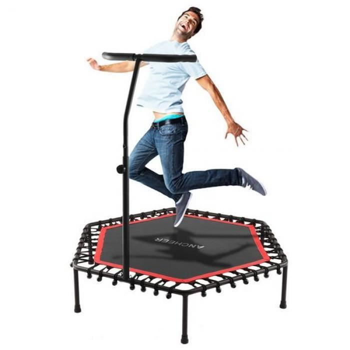 Fitness Trampoline Bungee-Rope-System avec guidon réglable