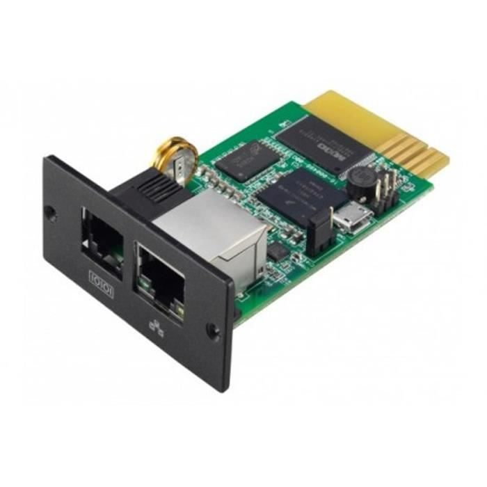 INFOSEC UPS SYSTEM Carte Intégrable Agent SNMP PRO I E3LCD /...