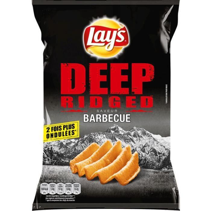 Chips ondulées goût barbecue 120g LAYS