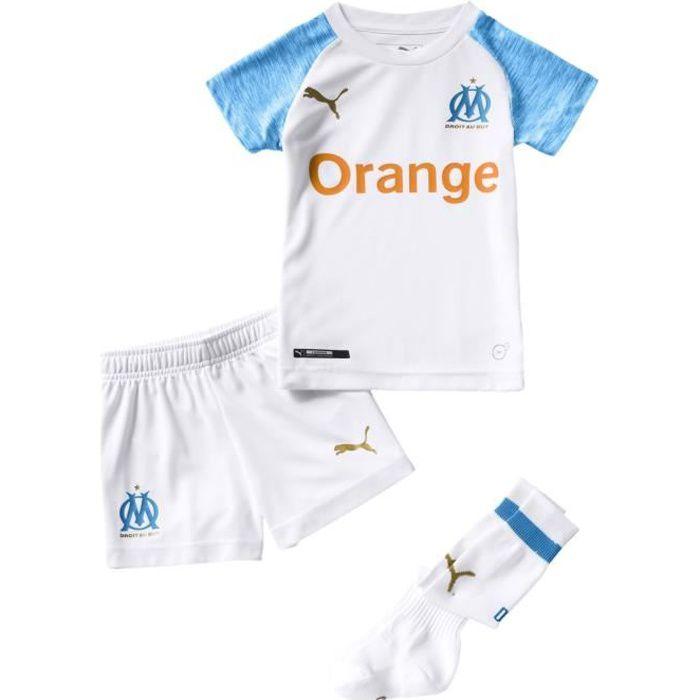 Mini kit domicile Olympique de Marseille 2018/2019