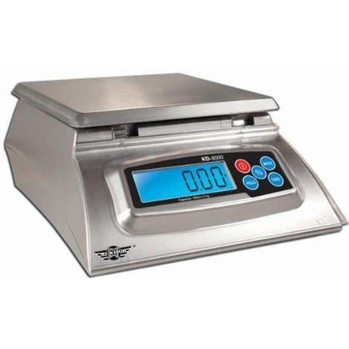 Balance de cuisine 8Kg à 1g avec Fonction % idéal boulangers, cuisines, etc