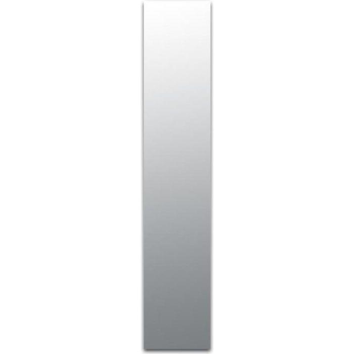 Miroir adhésif lettre L minuscule - 3,2 cm Matière : Miroir acrylique - Plastique réfléchissant Dimensions : 32 x 6 mm