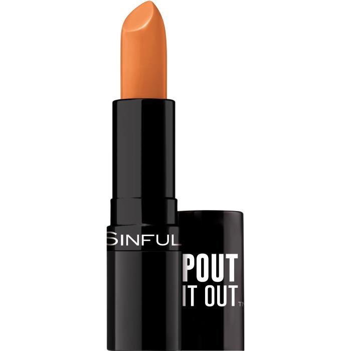 SINFUL Rouge à lèvres Stick Pout It Out n°005 Savored - 4,2 g