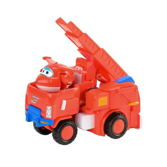 SUPER WINGS Véhicule Transformable 18 cm - Jett's Robo Rig