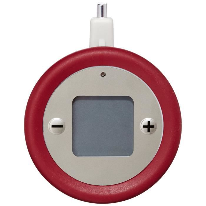 Tefal Seb X1060005 Minuteur Plastique Rouge 17,5 x 2,8 x 12,5 cm