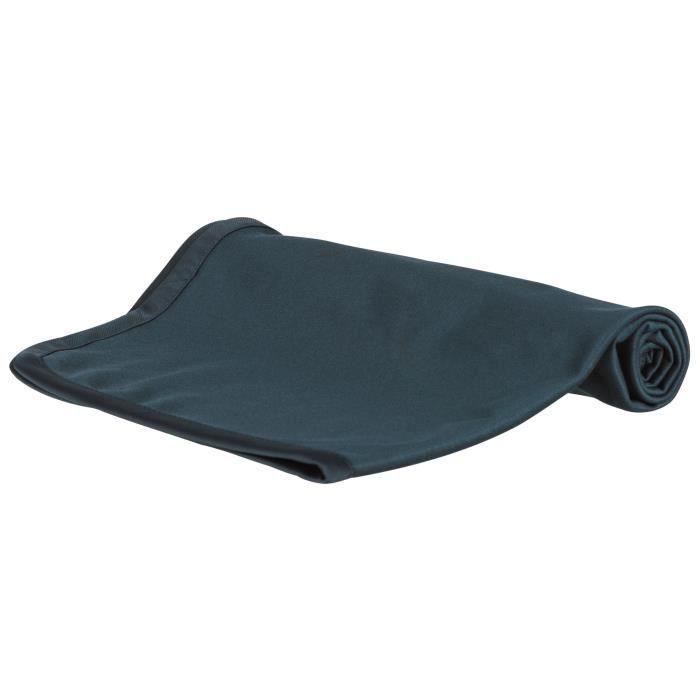 TRIXIE Plaid d'extérieur Insect Shield® - antiparasitaire - 70x50 cm - Bleu foncé - Pour chien