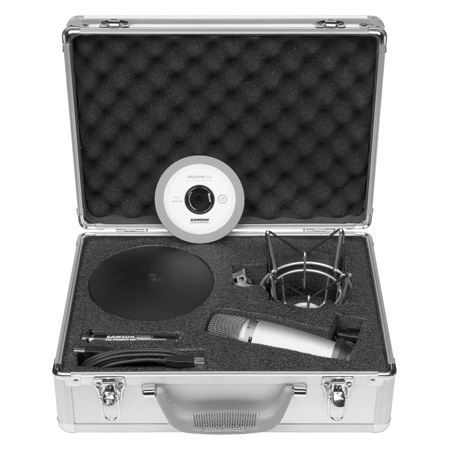 MICROPHONE - ACCESSOIRE SAMSON AUDIO C01U RECORDING PODCASTING PACK -Micro