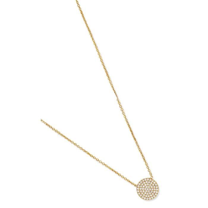 SF Bijoux - Collier plaqué or OZ (42+2+2 cm) - (301850-44)